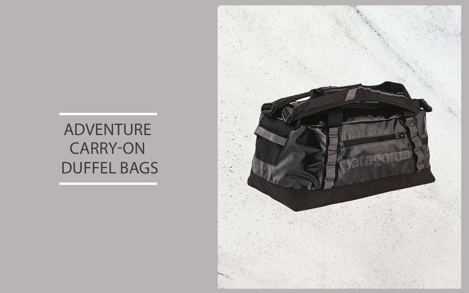 Adventure Carry-on Duffel Bags