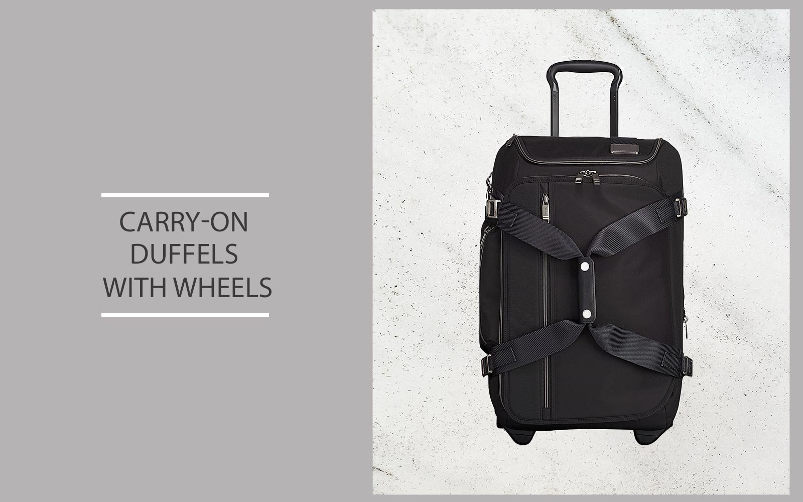 Carry-on Duffel Bags With Wheels