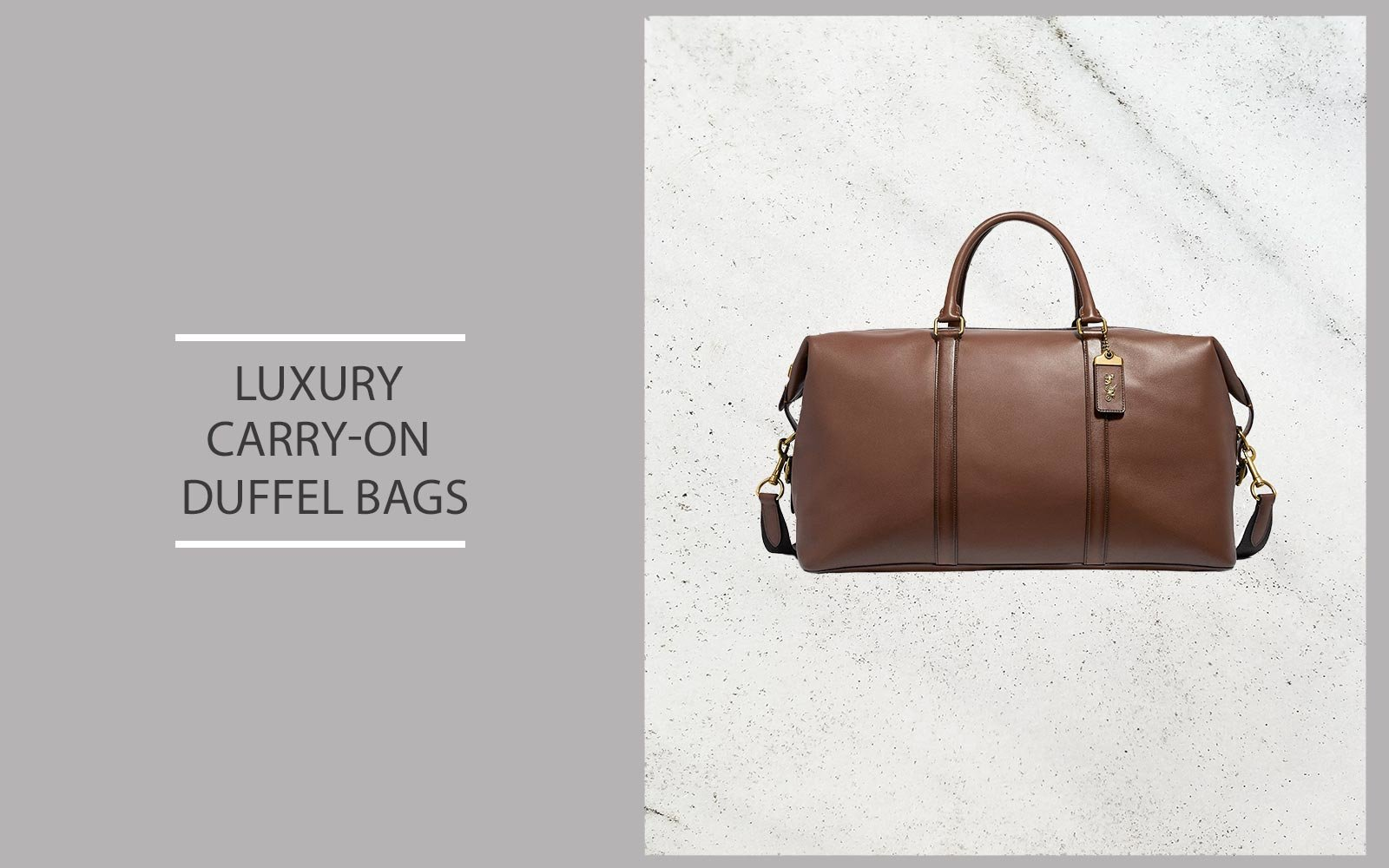 Luxury Carry-on Duffel Bags
