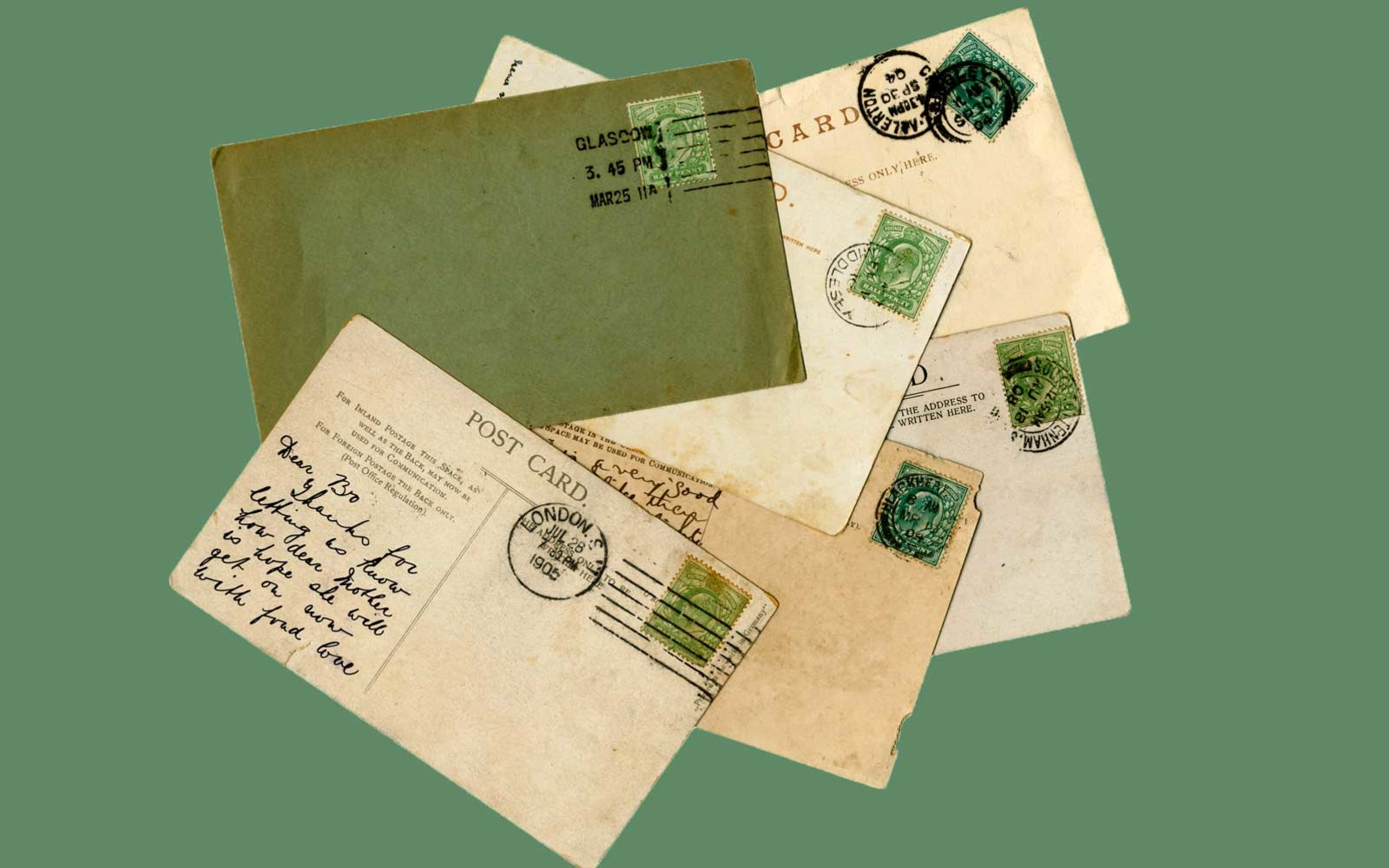 Woman Discovers Postcards Sent to Her Grandparents In 1936 on eBay
