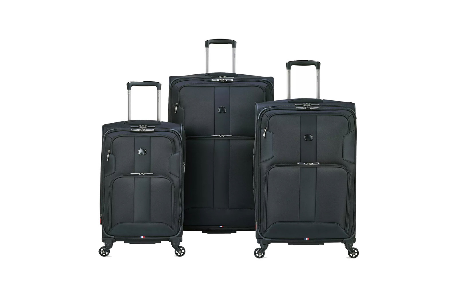 Delsey Skymax Three Piece Nested Luggage