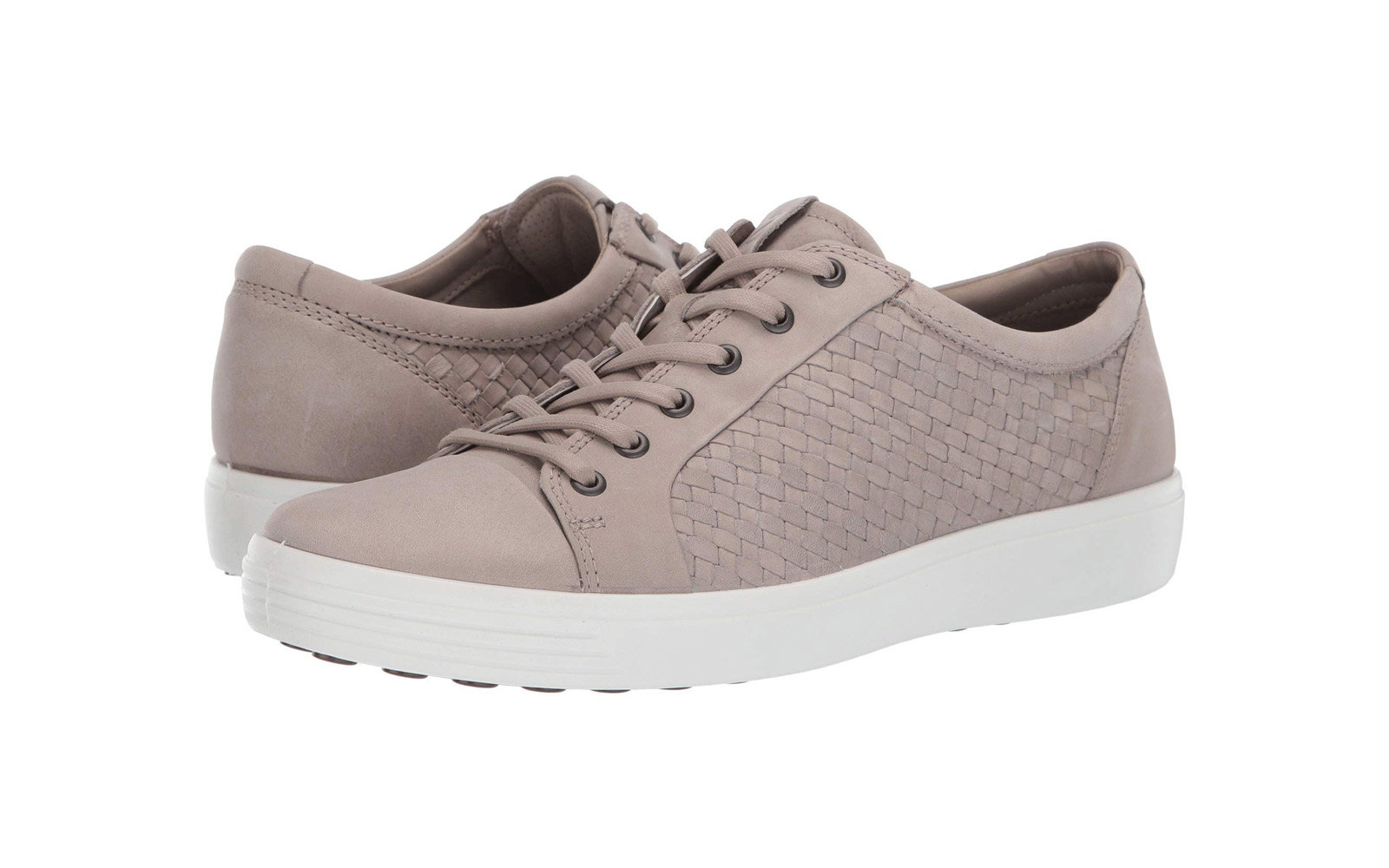 ecco leather soft 7 comfortable sneakers