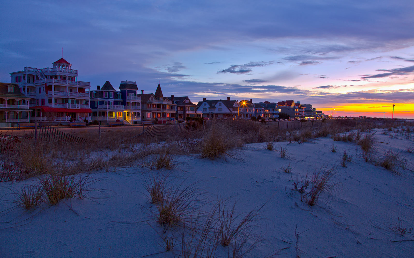 Cape May, New Jersey, Springtime