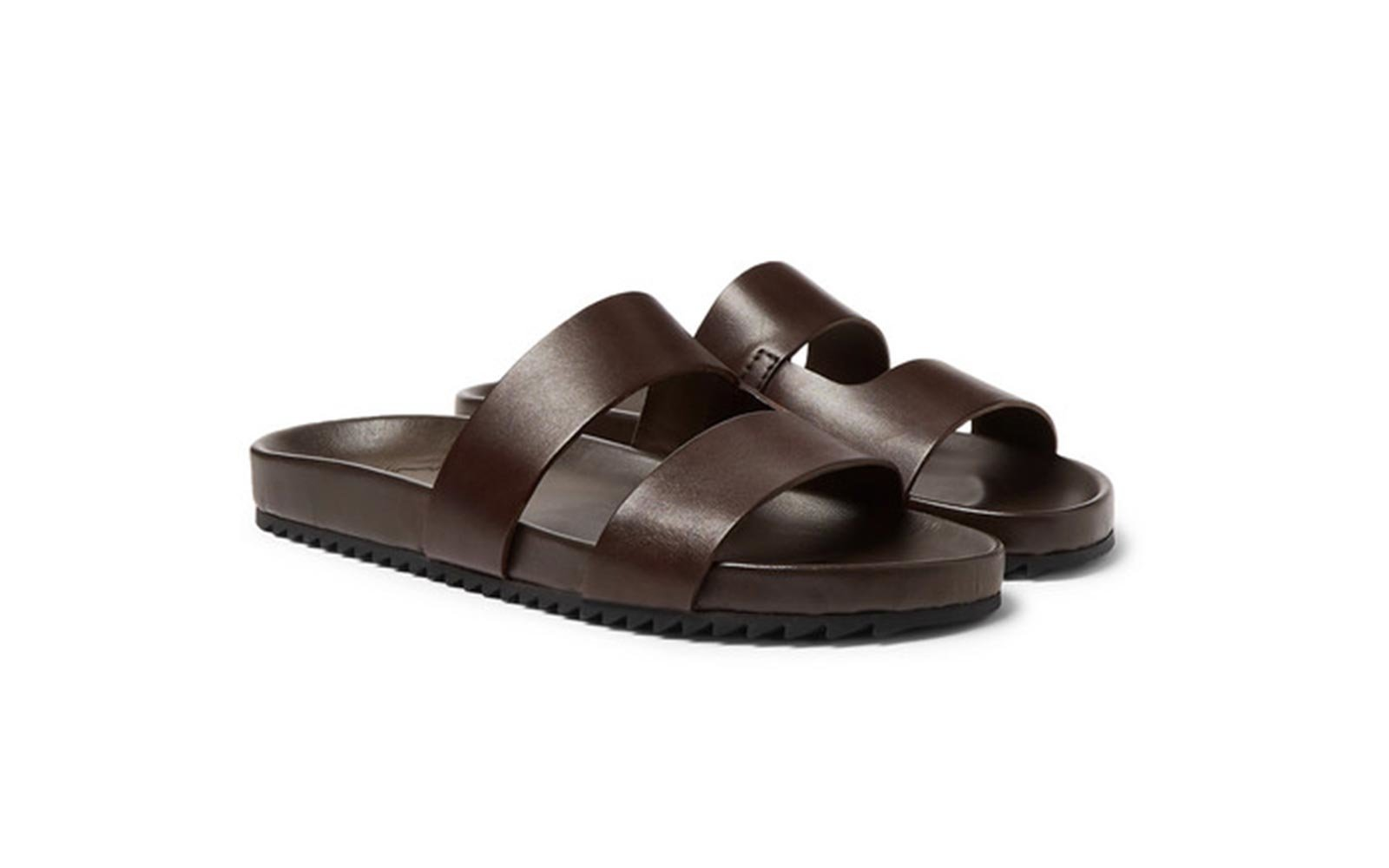 fa25ee84b3a The Best Men's Leather Sandals to Wear This Summer | Travel + Leisure