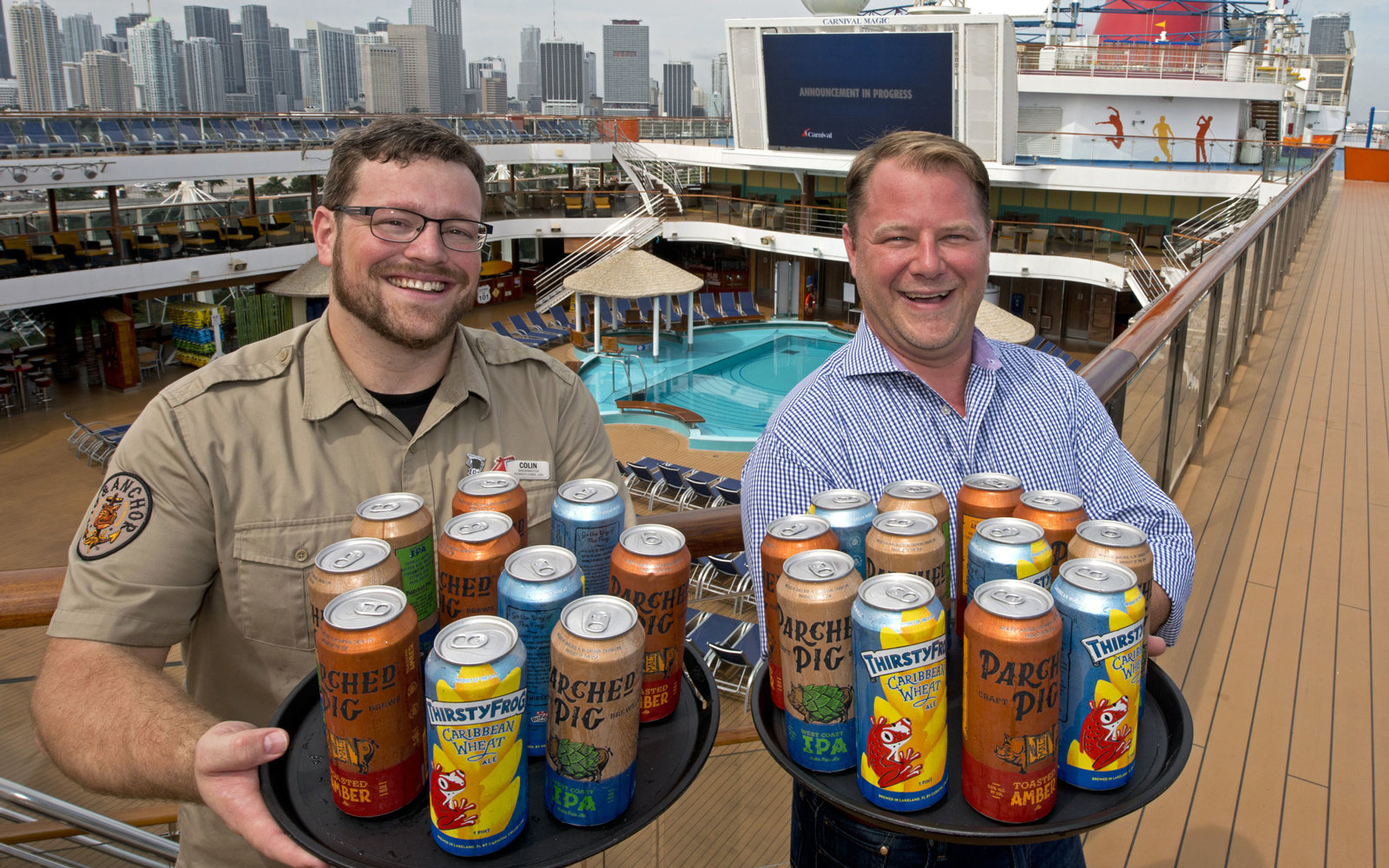 Carnival Cruise Line Beer