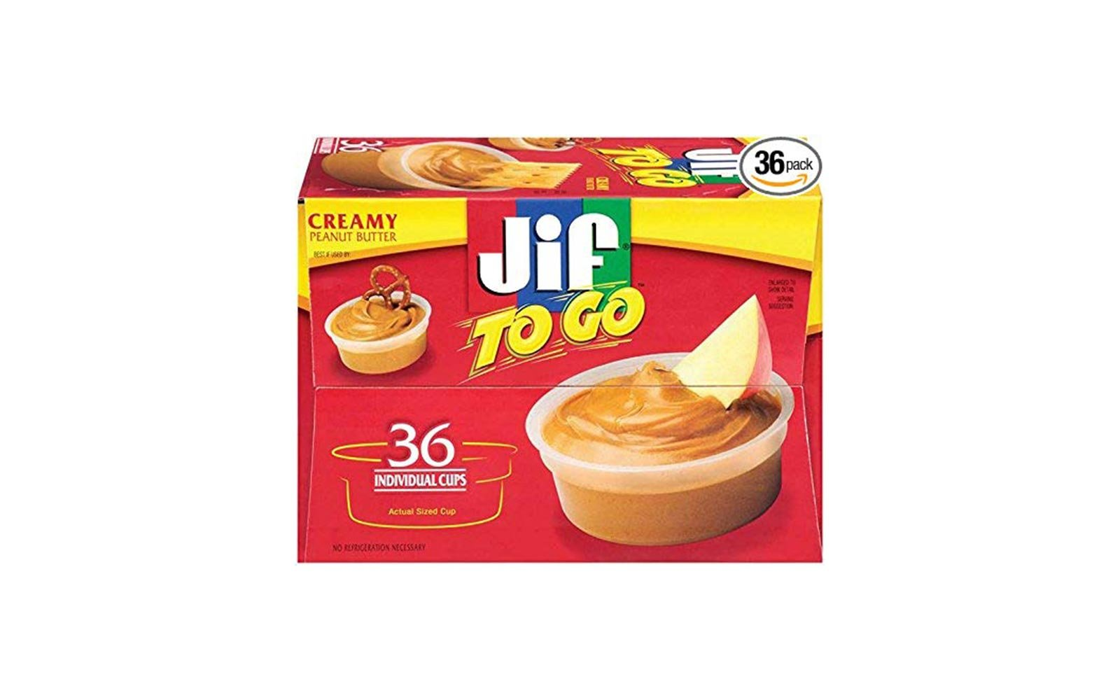 Jif to go packs
