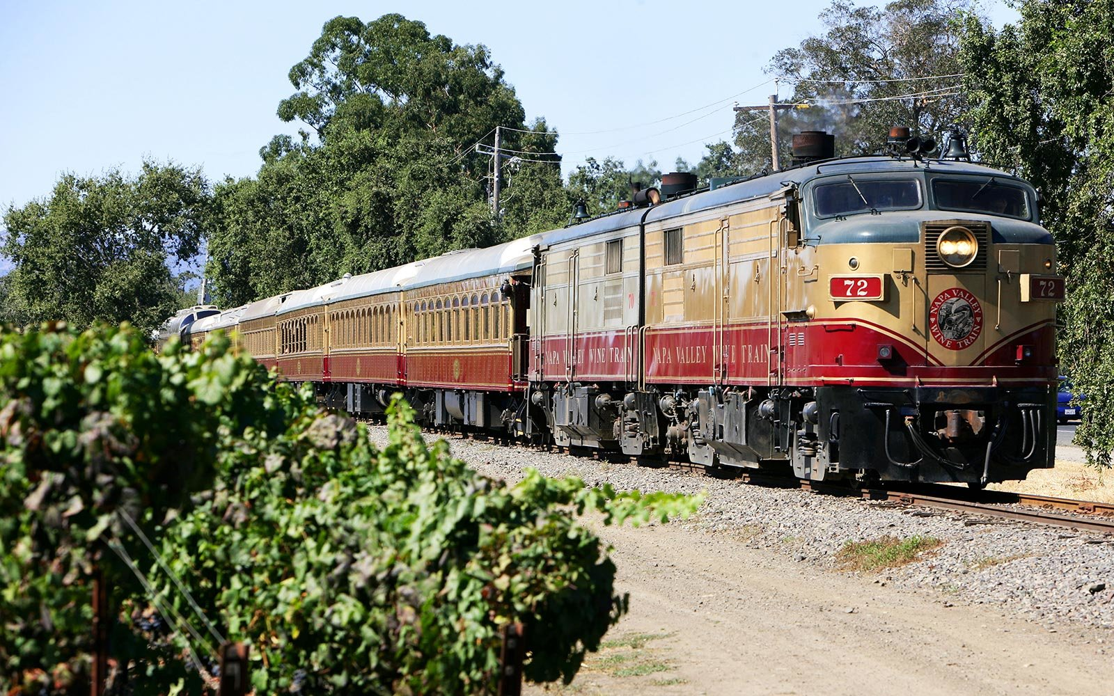 You Can Solve a Murder Mystery on a Wine Train Through Napa Valley