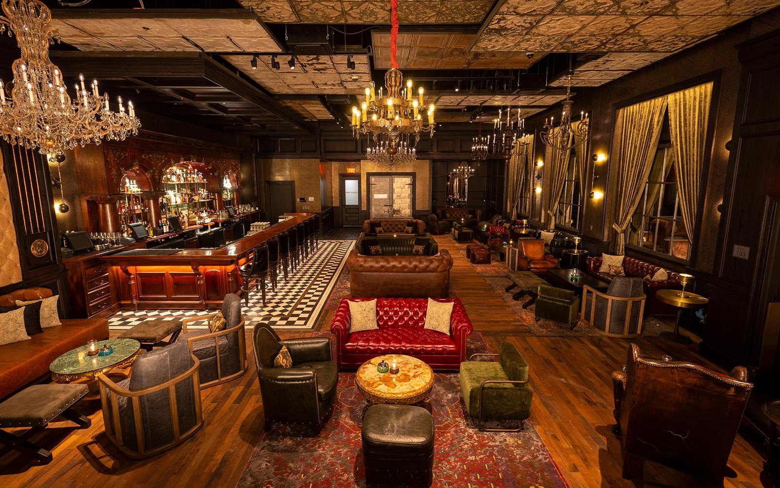 This Vegas Barbershop Has a Secret Speakeasy With an Amazing Whisky Selection