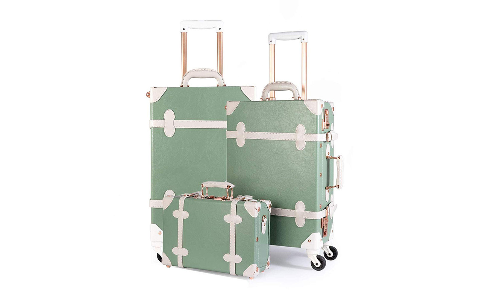 Uniwalker Vintage 3-Piece Luggage