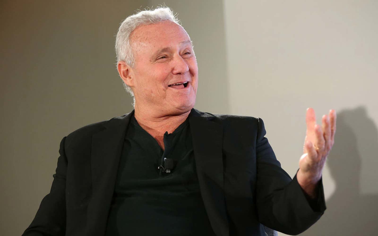 Ian Schrager speaks onstage at D.LUXE