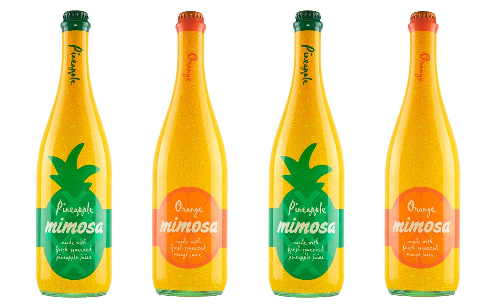 Pineapple and Orange Mimosas at ALDI