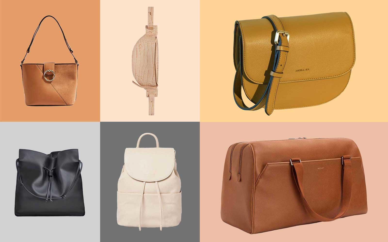 5bde1a72892 9 Stylish Vegan Leather Bags That Look Like the Real Thing | Travel ...