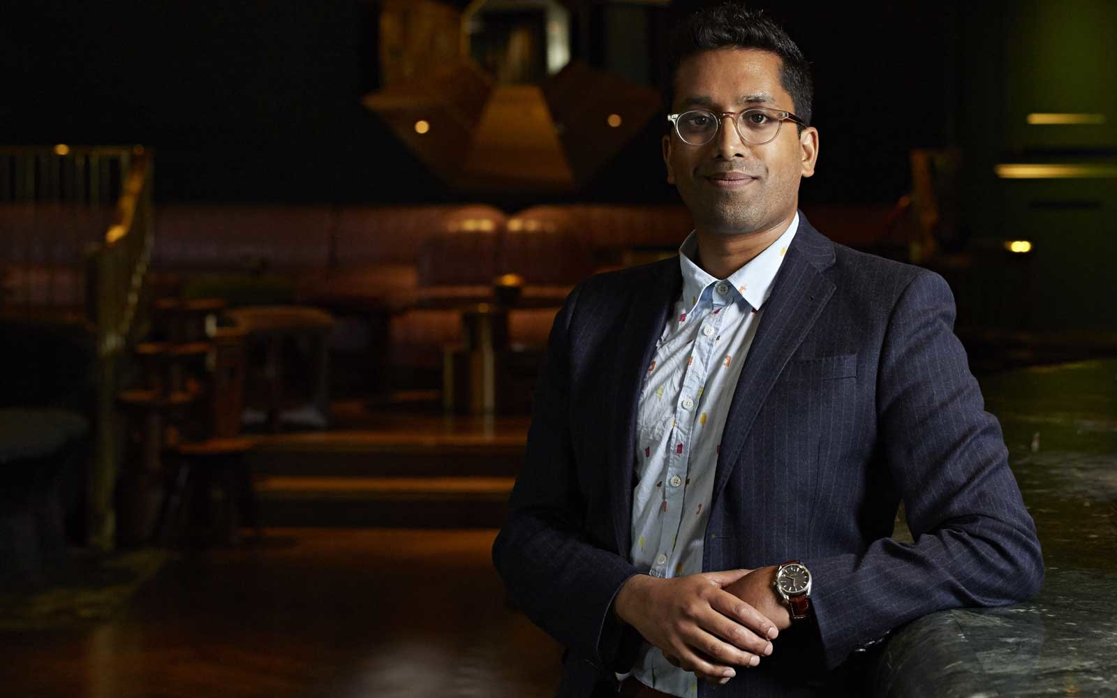 Ryan Chetiyawardana, of Dandelyan, voted the best cocktail bar in the world