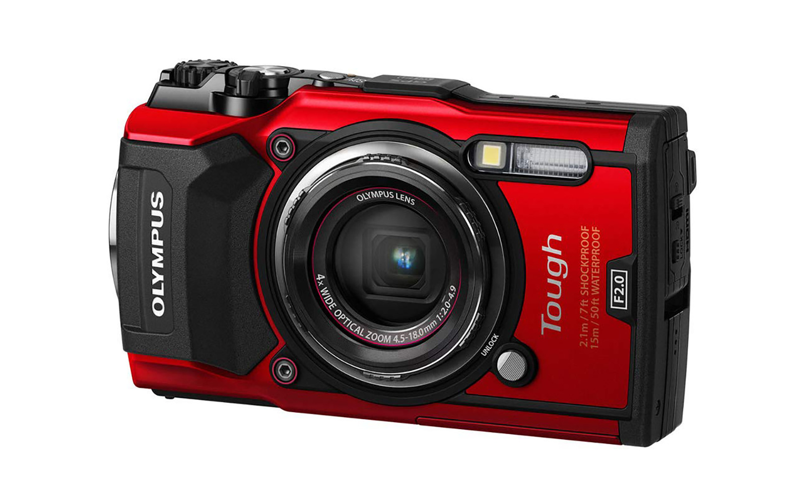 Best Camera for Backpackers: Olympus TG-5