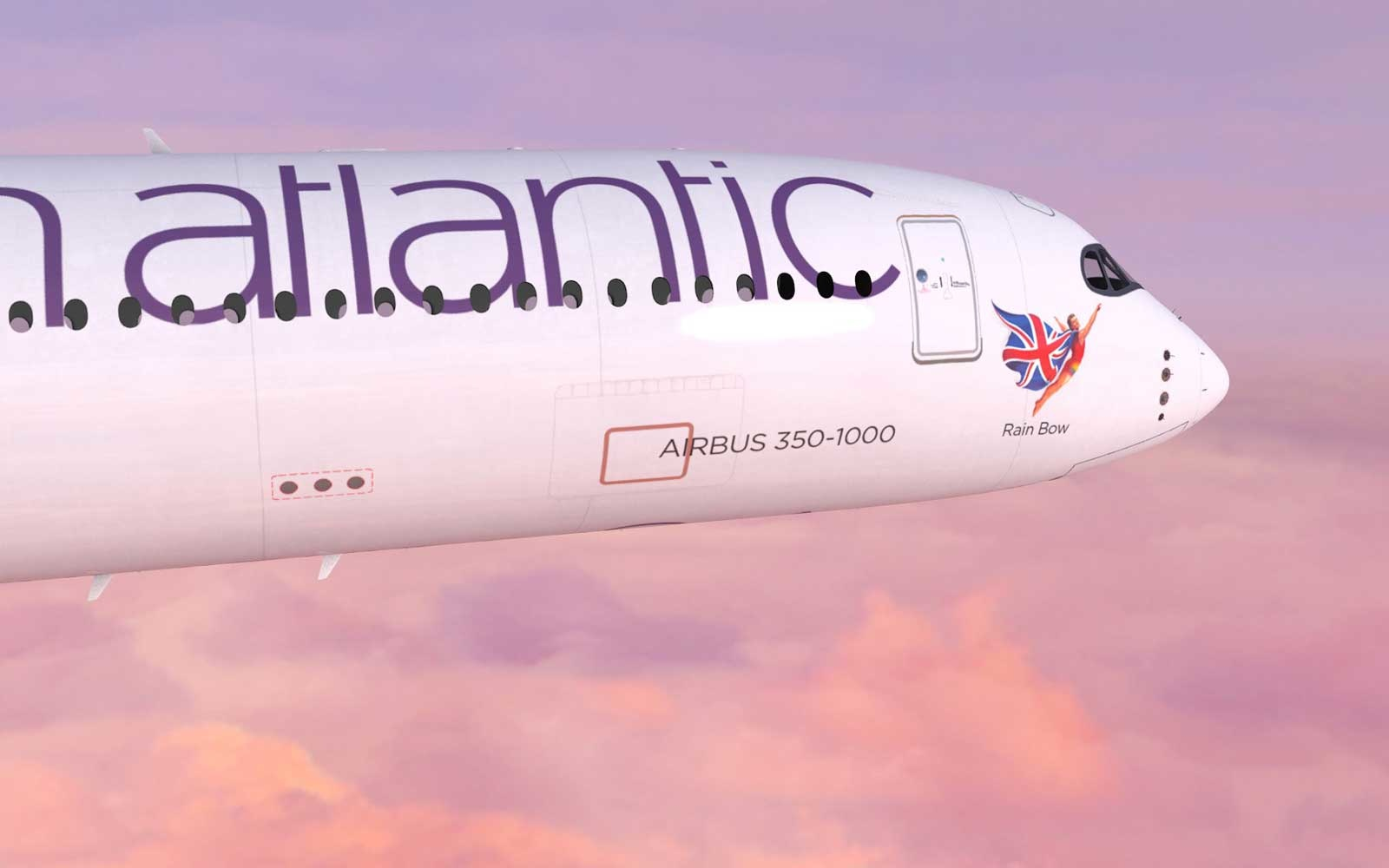 New Flying Icons for Virgin Atlantic
