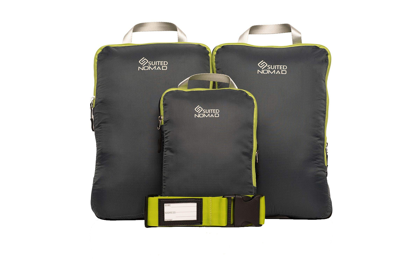 Suited Nomad Compression Packing Cubes