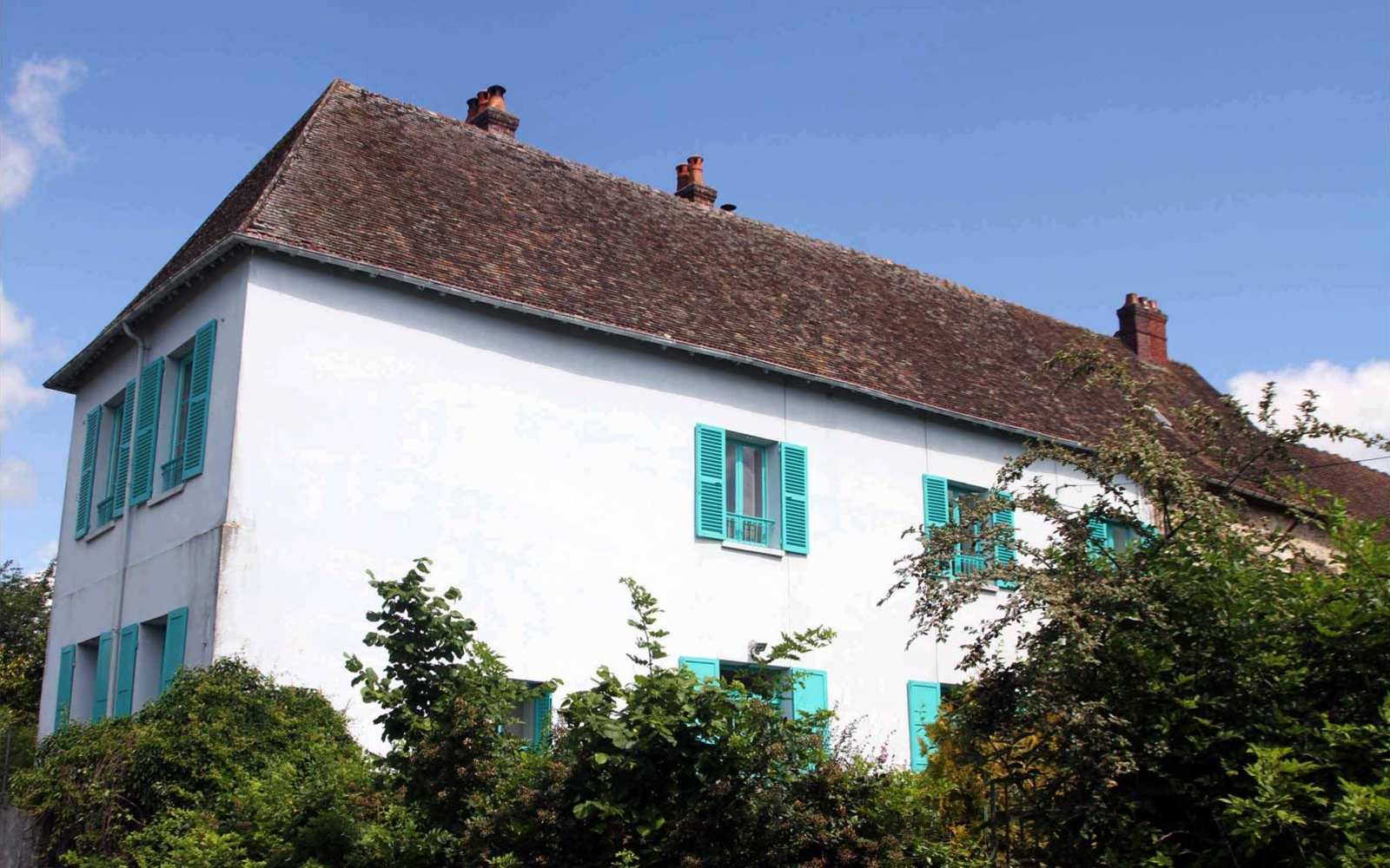 Airbnb Rental, Monet's Blue House, Giverny, France