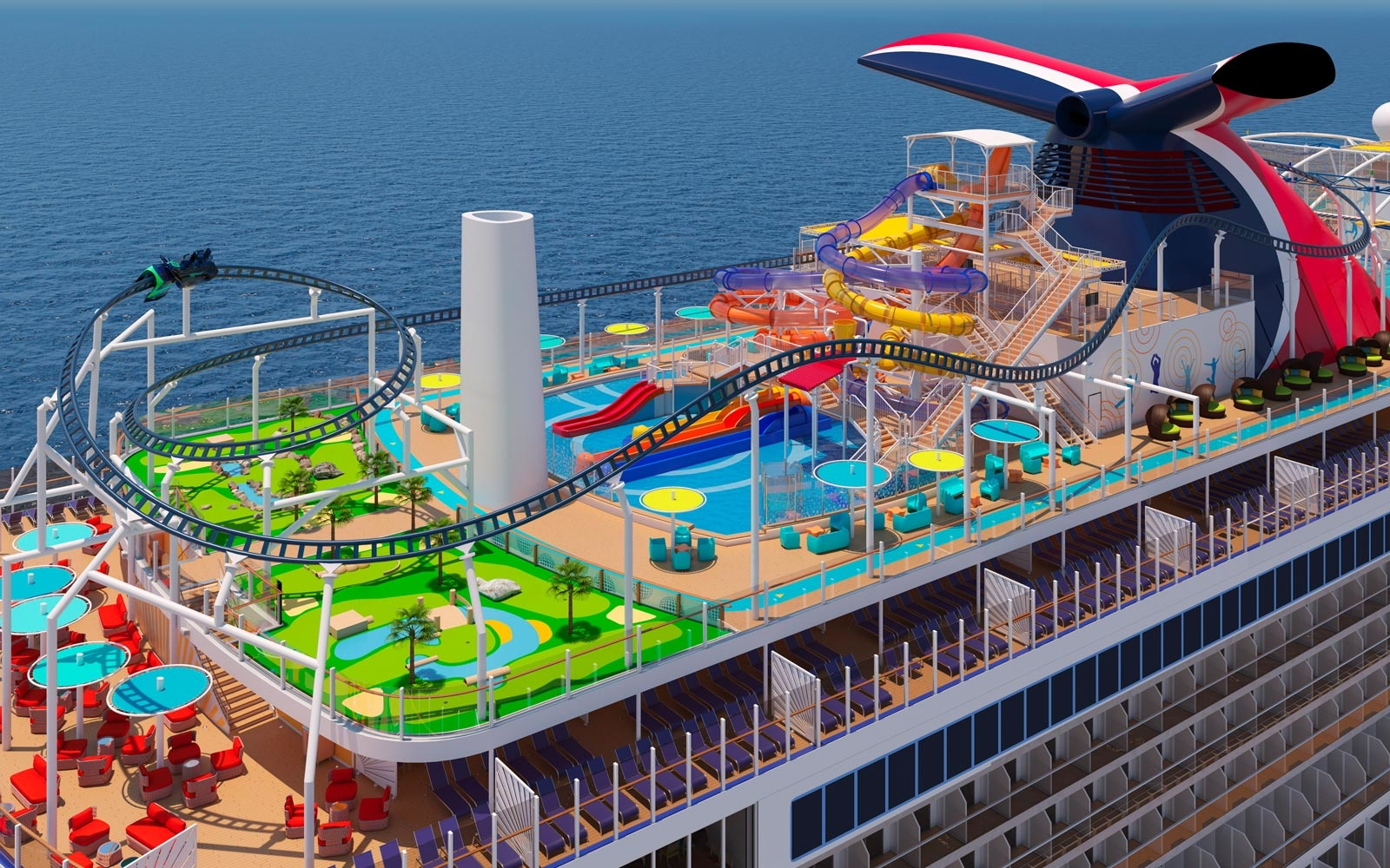 The Carnival Mardi Gras Cruise Ship Will Have Premium Suites That Feel Like a Private Retreat