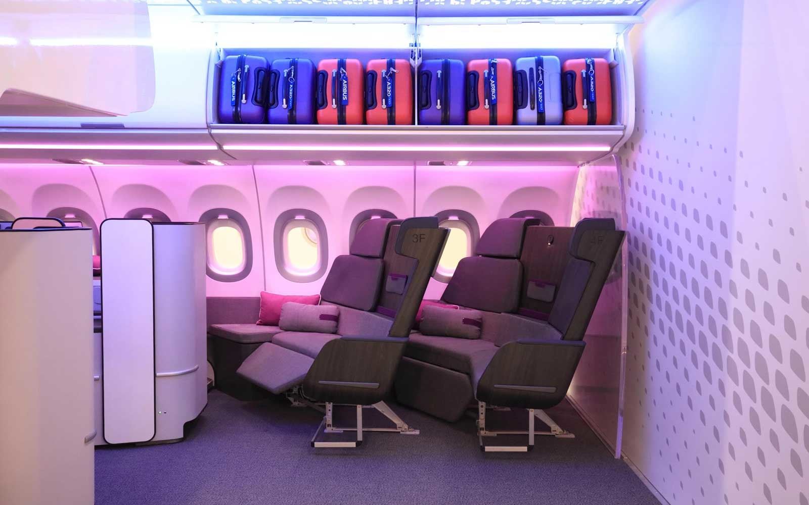 Airbus Reveals New Couch-style Airplane Seats so Travelers Can Kick Back in Flight