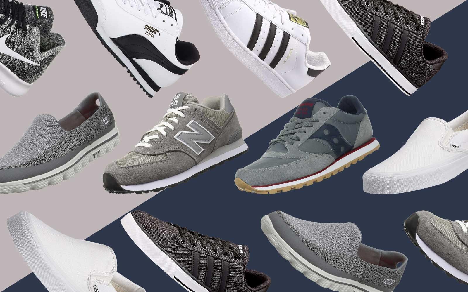 These Are the 15 Most Comfortable Men's Sneakers You Can Get