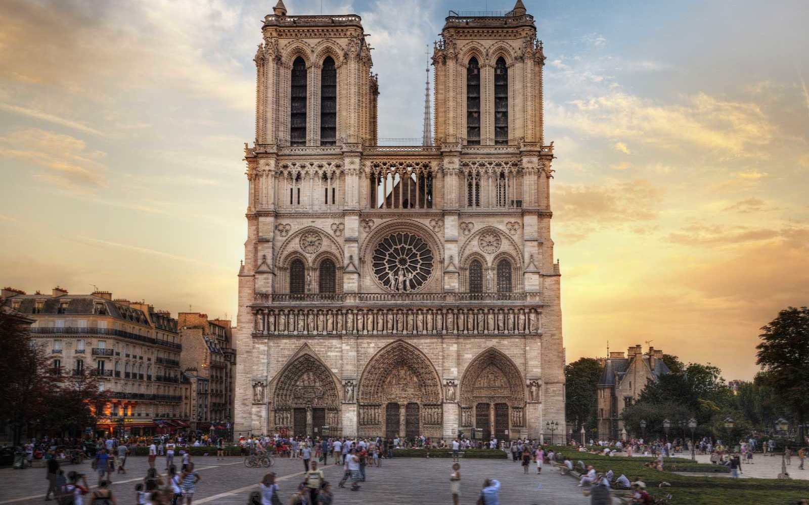 Paris S Notre Dame Cathedral Before The Fire An