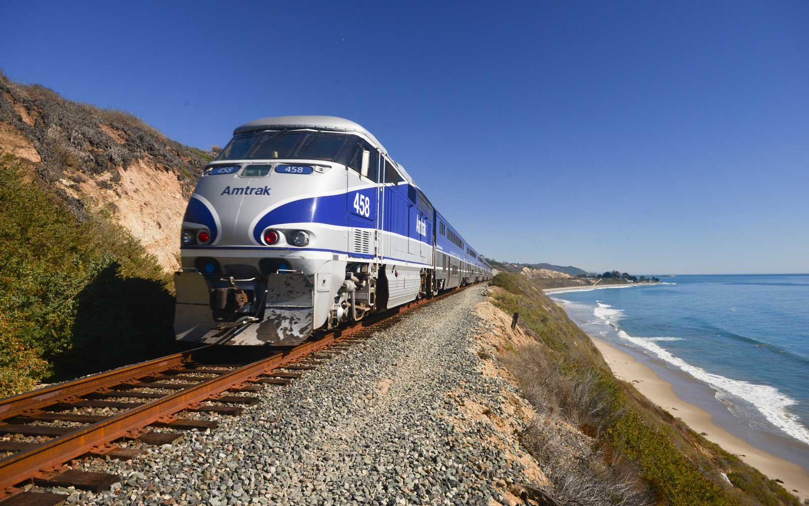 Amtrak, pacific coast