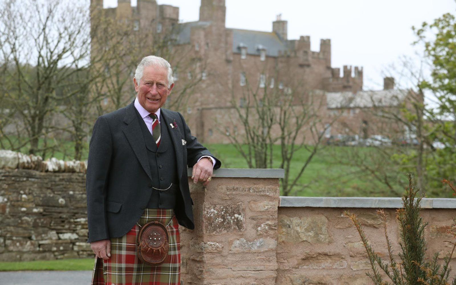 Prince Charles at Castle of Mey