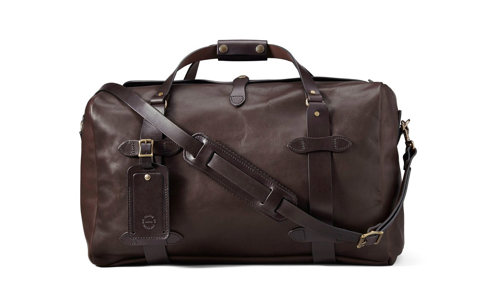 0c7a2007e3dd The Best Leather Duffel Bags | Travel + Leisure