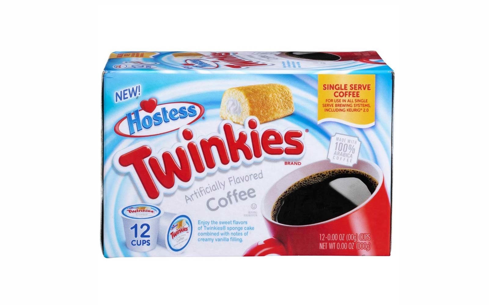 Hostess Just Released Twinkies-flavored Coffee