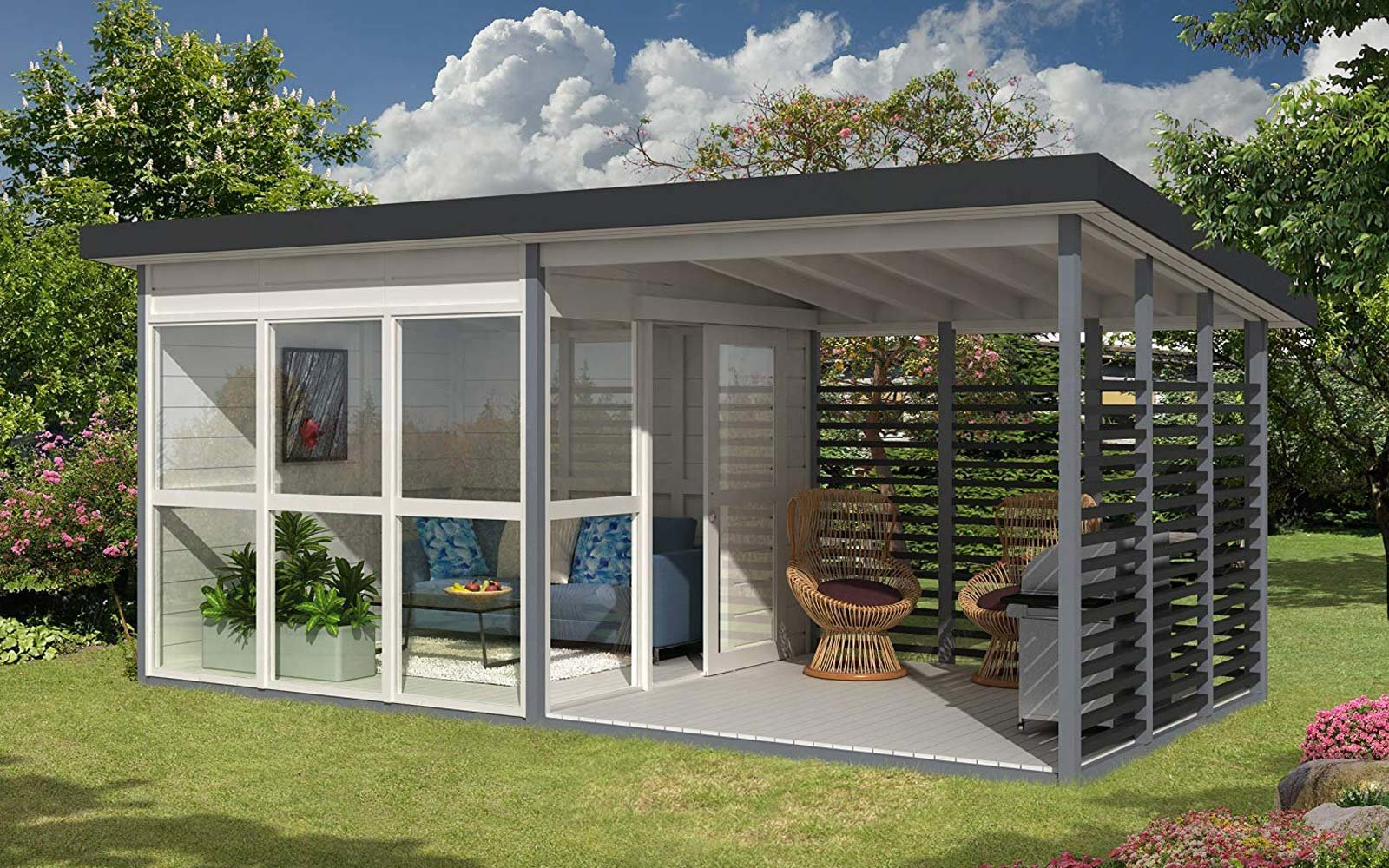 Amazon Is Selling a DIY Backyard Guest House That You Can Build in 8 Hours