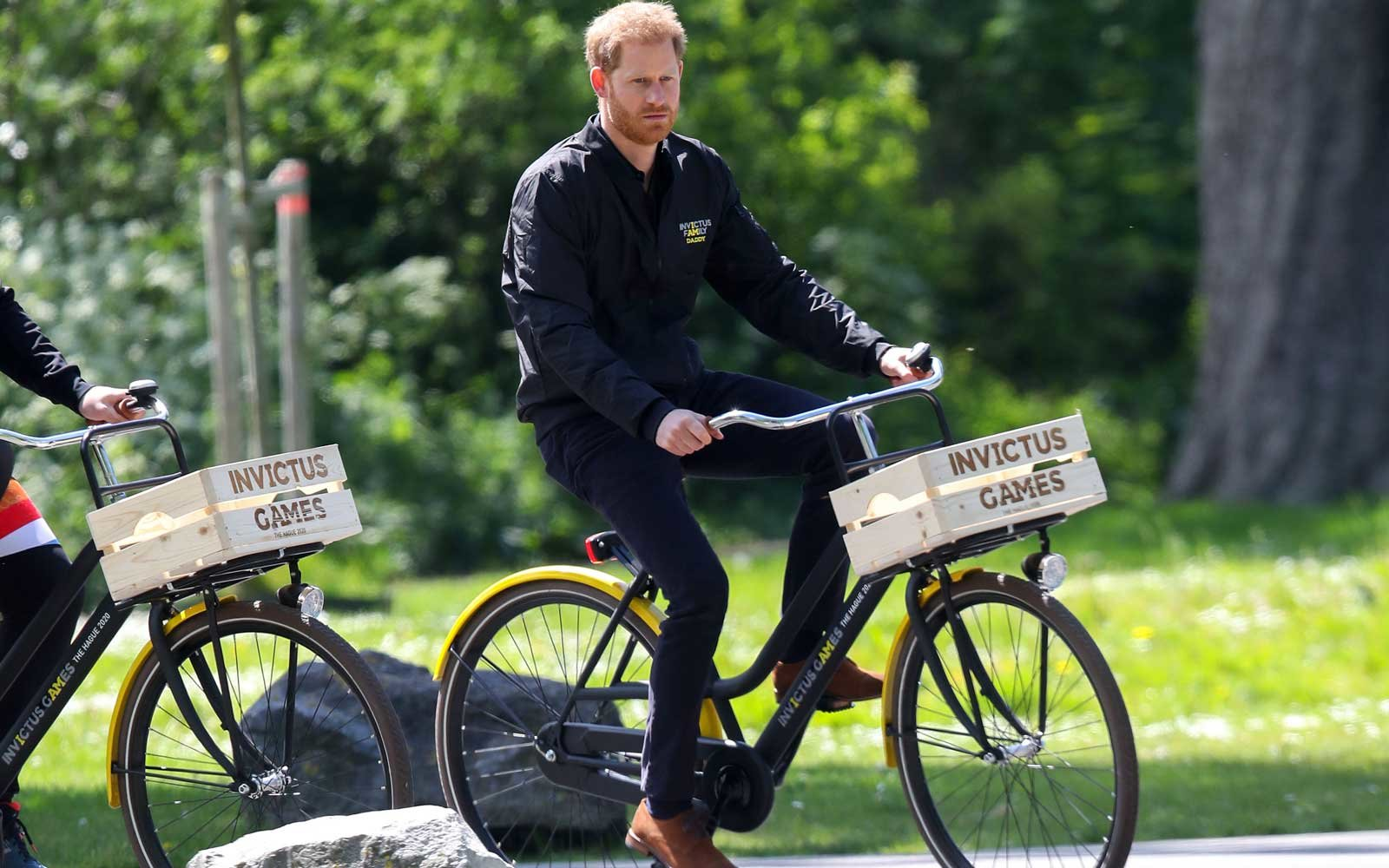 The Duke Of Sussex Visits The Netherlands