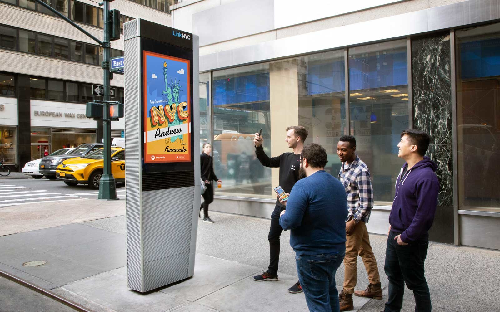 Messages in NYC - Shoutable App