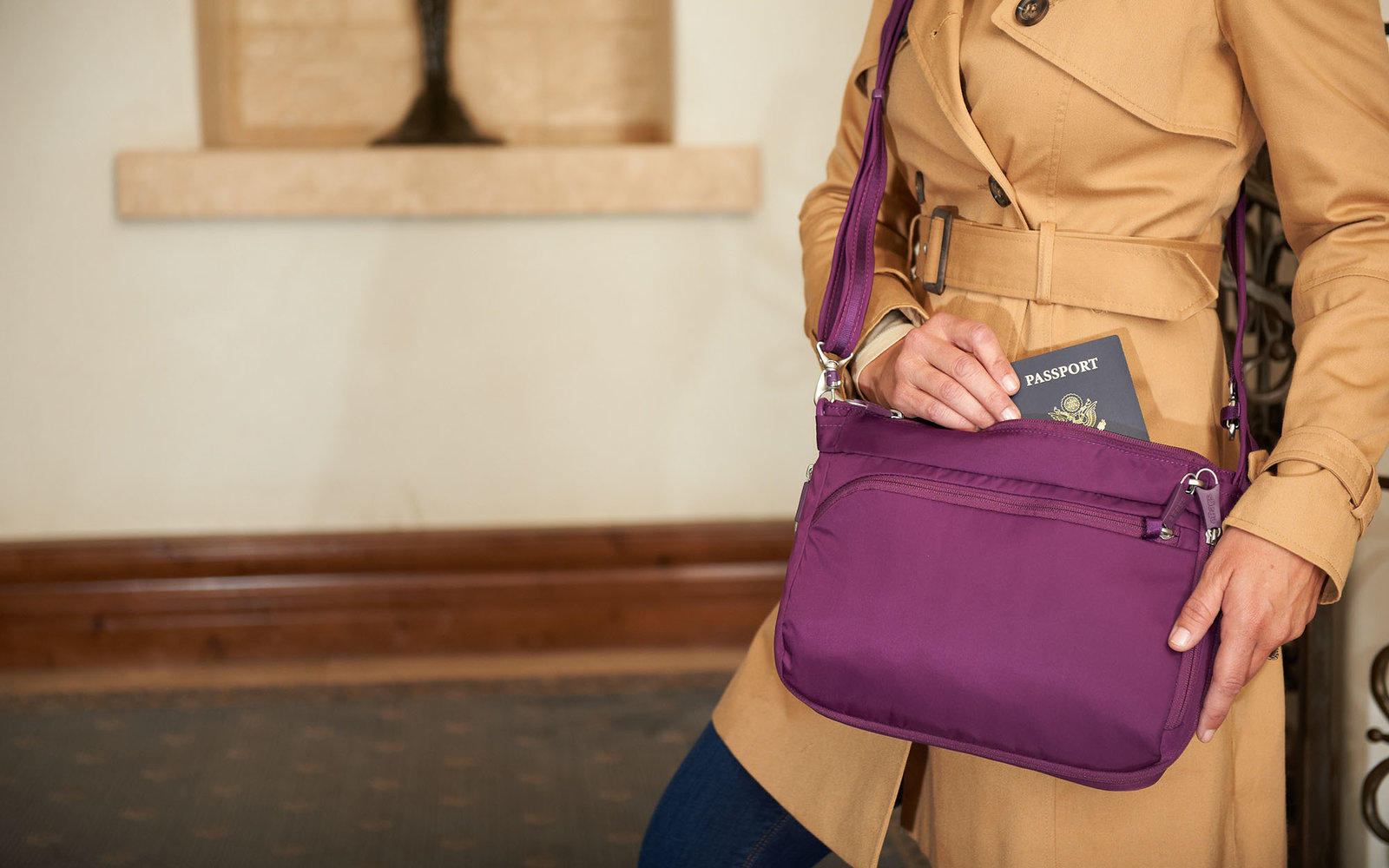 eBags Snuck So Many Anti-theft Features Into This Cross-body Bag — and You Can Get One for More Than Half Off