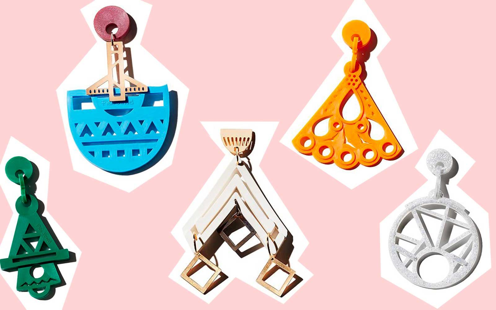 These Unique Statement Earrings Are the Only Summer Jewelry You'll Need