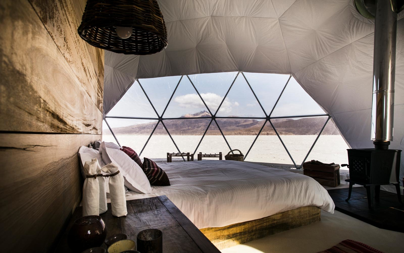 This New Stargazer Lodge in Bolivia Will Make You Feel Like You're Sleeping on a Space Station