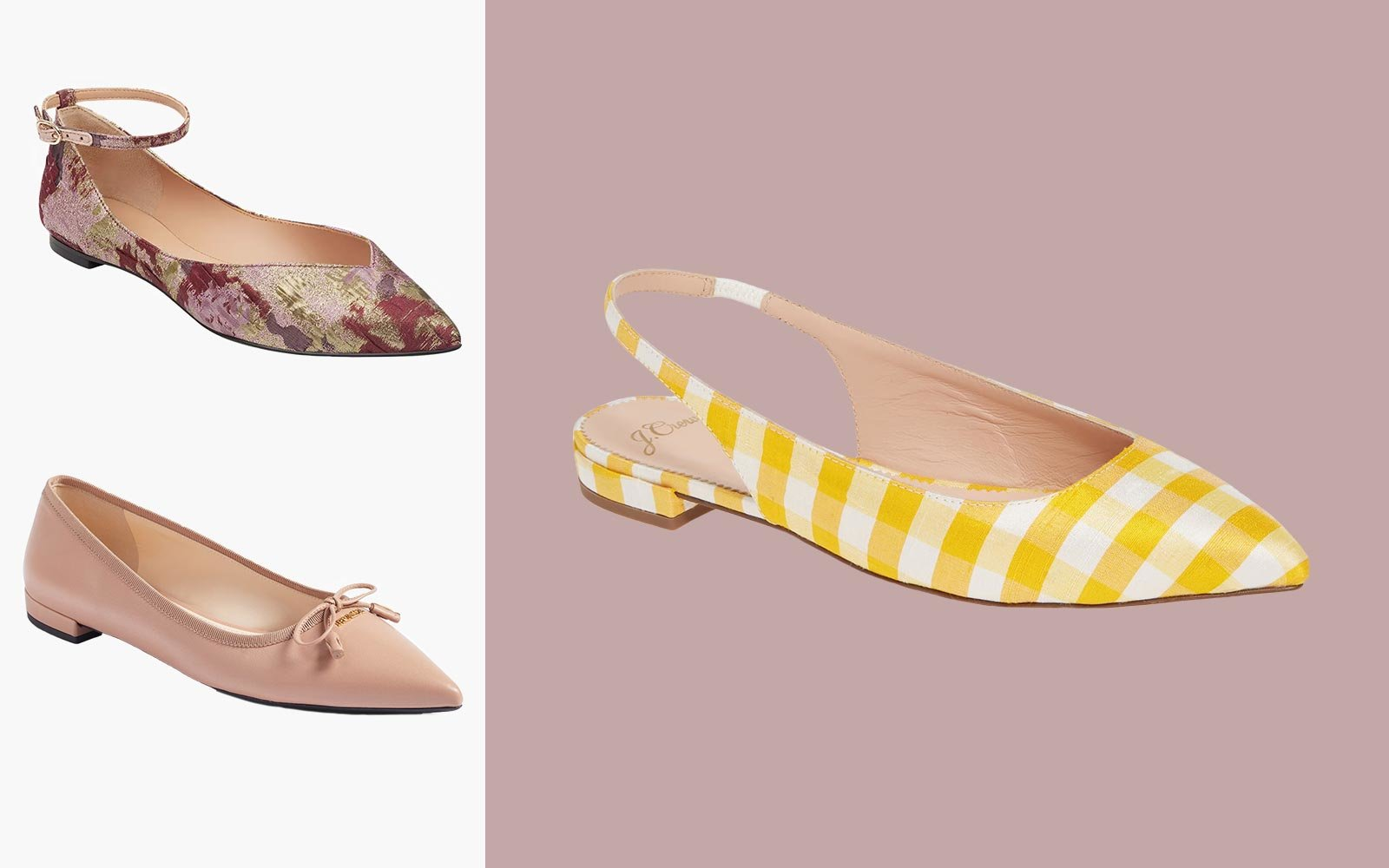 13 Dressy Flats That Are Much More Comfortable Than Heels