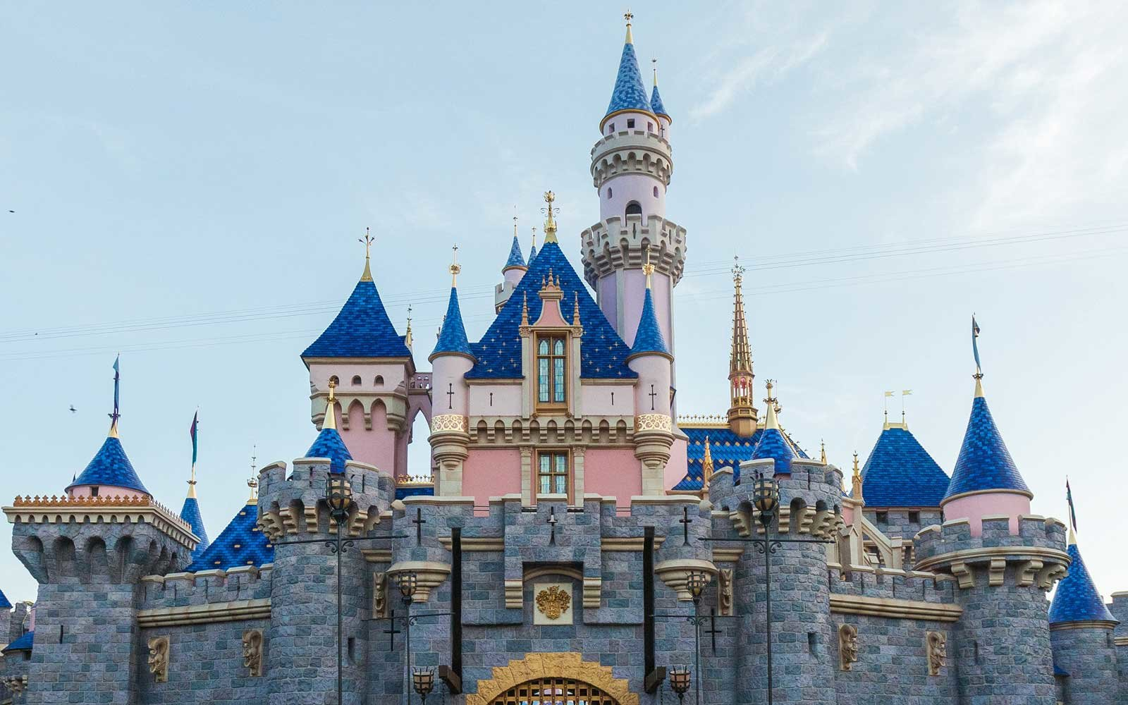 Sleeping Beauty's Castle Got a Bright, Colorful Makeover — Complete With Pixie Dust