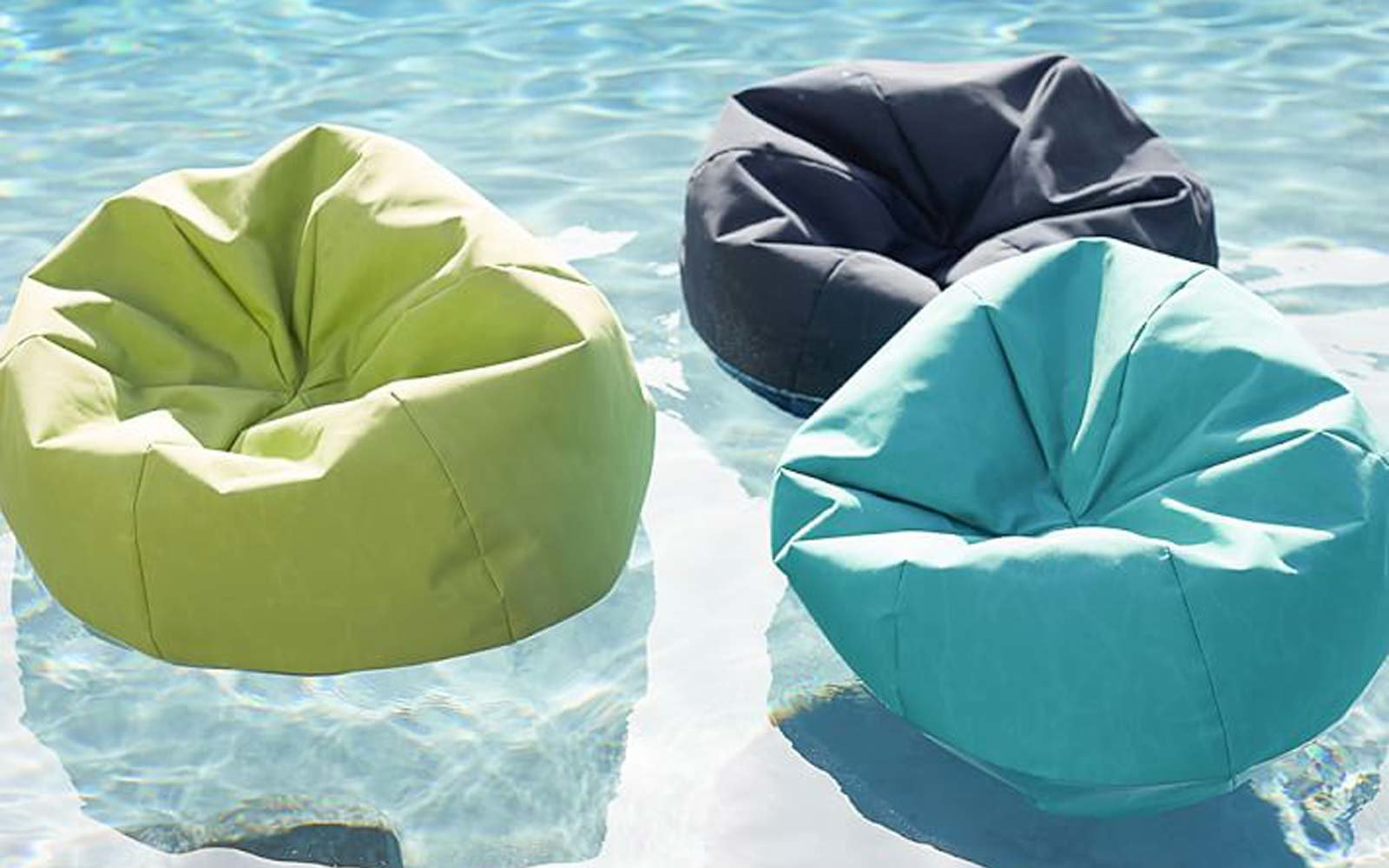 These Bean Bag Pool Floats Are the Ultimate Lazy Summer Accessory