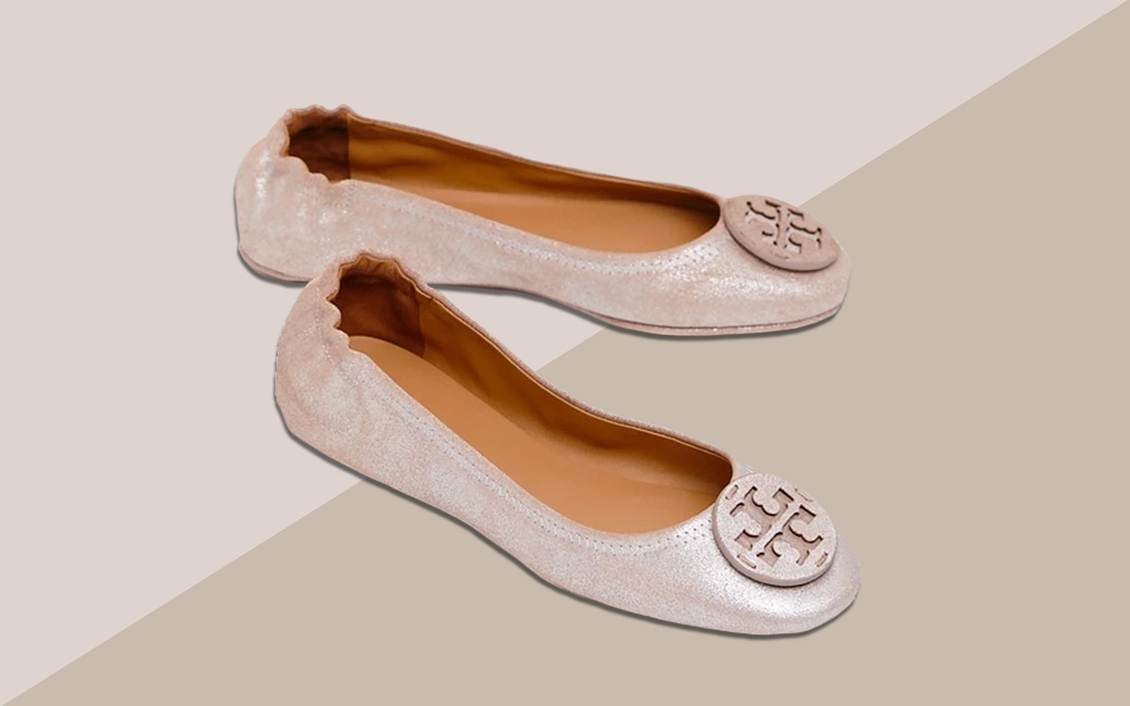 Tory Burch's Best-selling Foldable Travel Flats Are on Sale Right Now