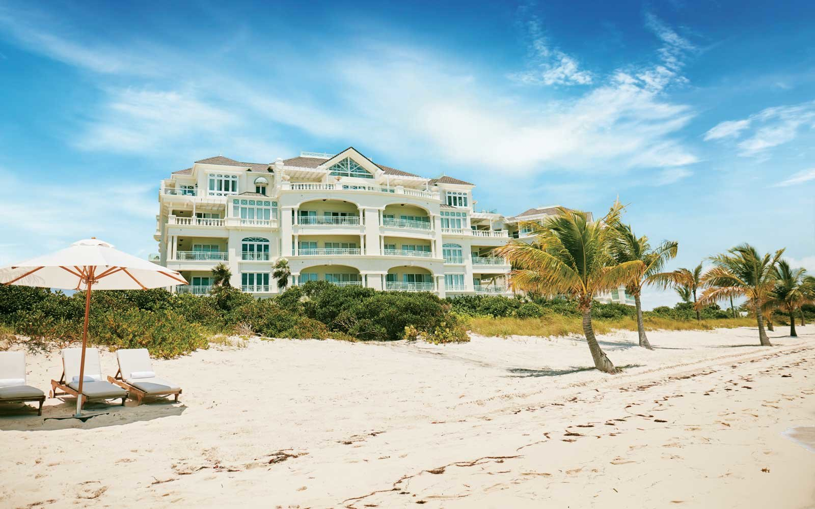 Travel + Leisure's Best Hotels in the Caribbean. Pictured; The Shore Club Turks and Caicos