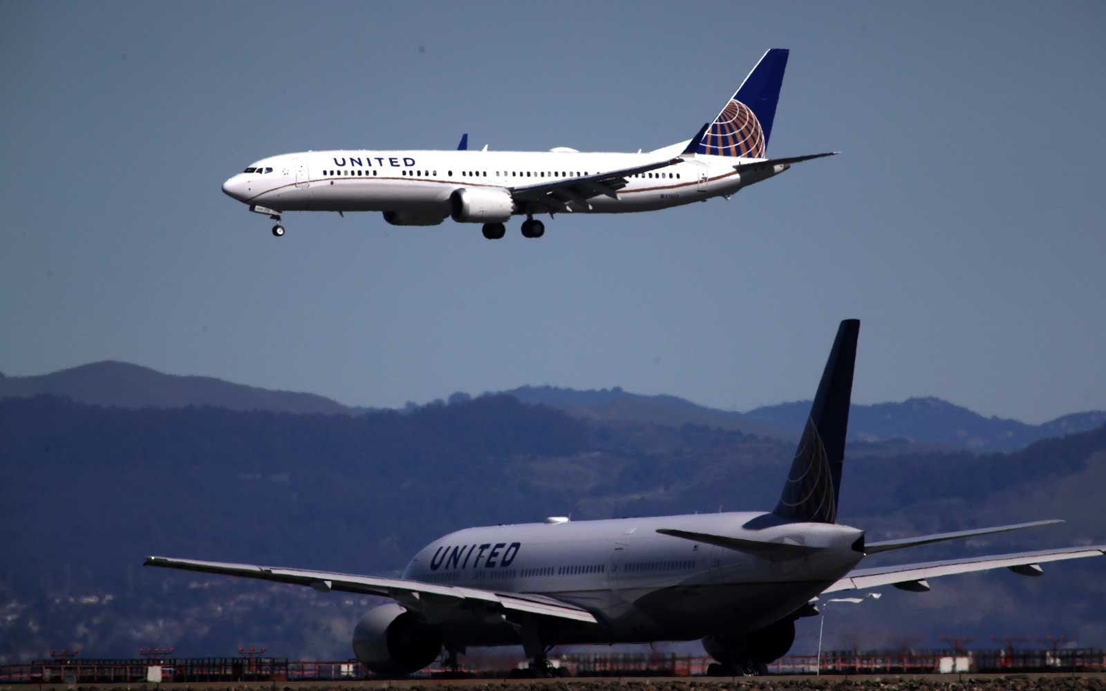 United Airlines Boeing 737 Max 8