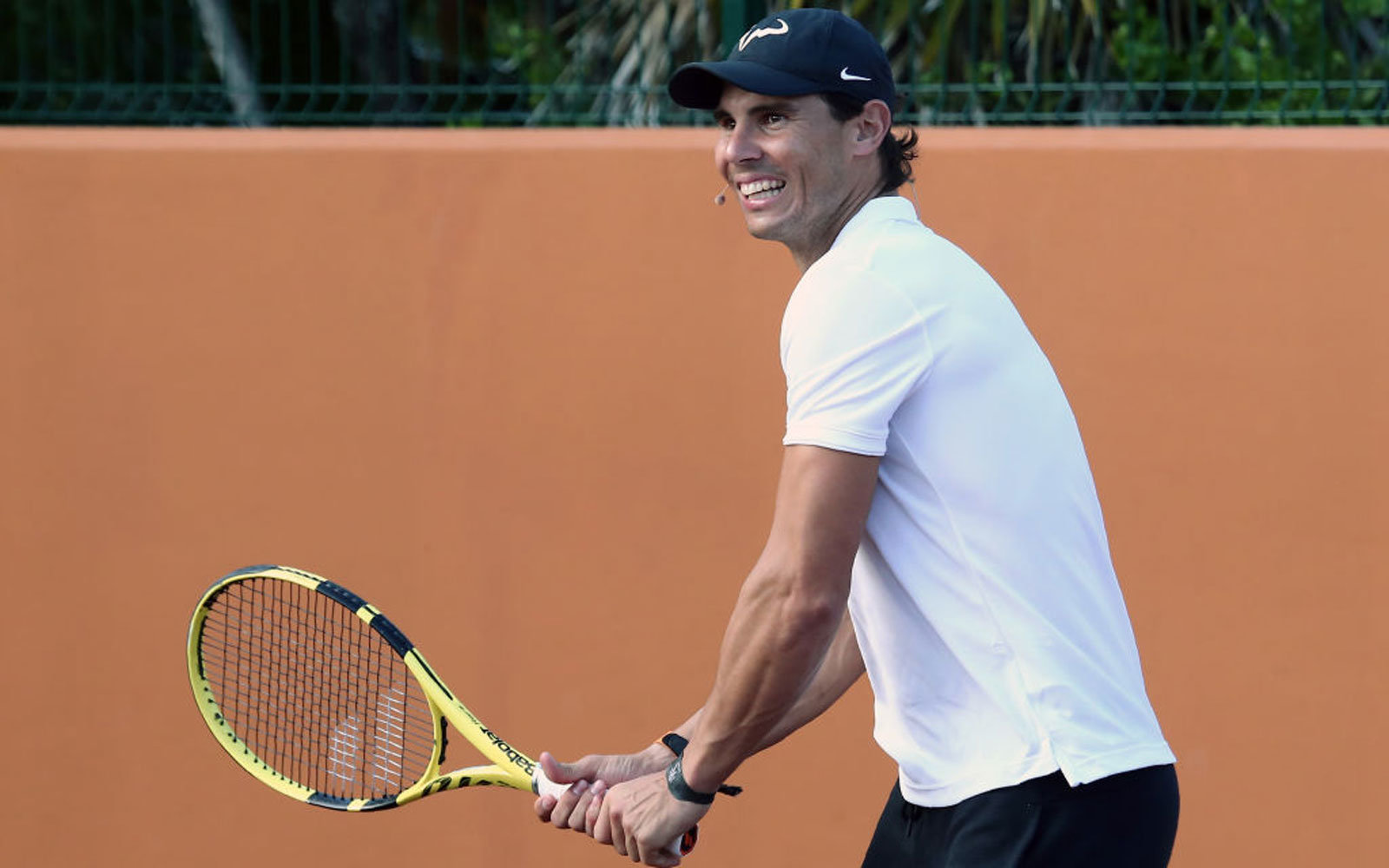 You could train with Rafael Nadal's tennis coach in Greece this summer