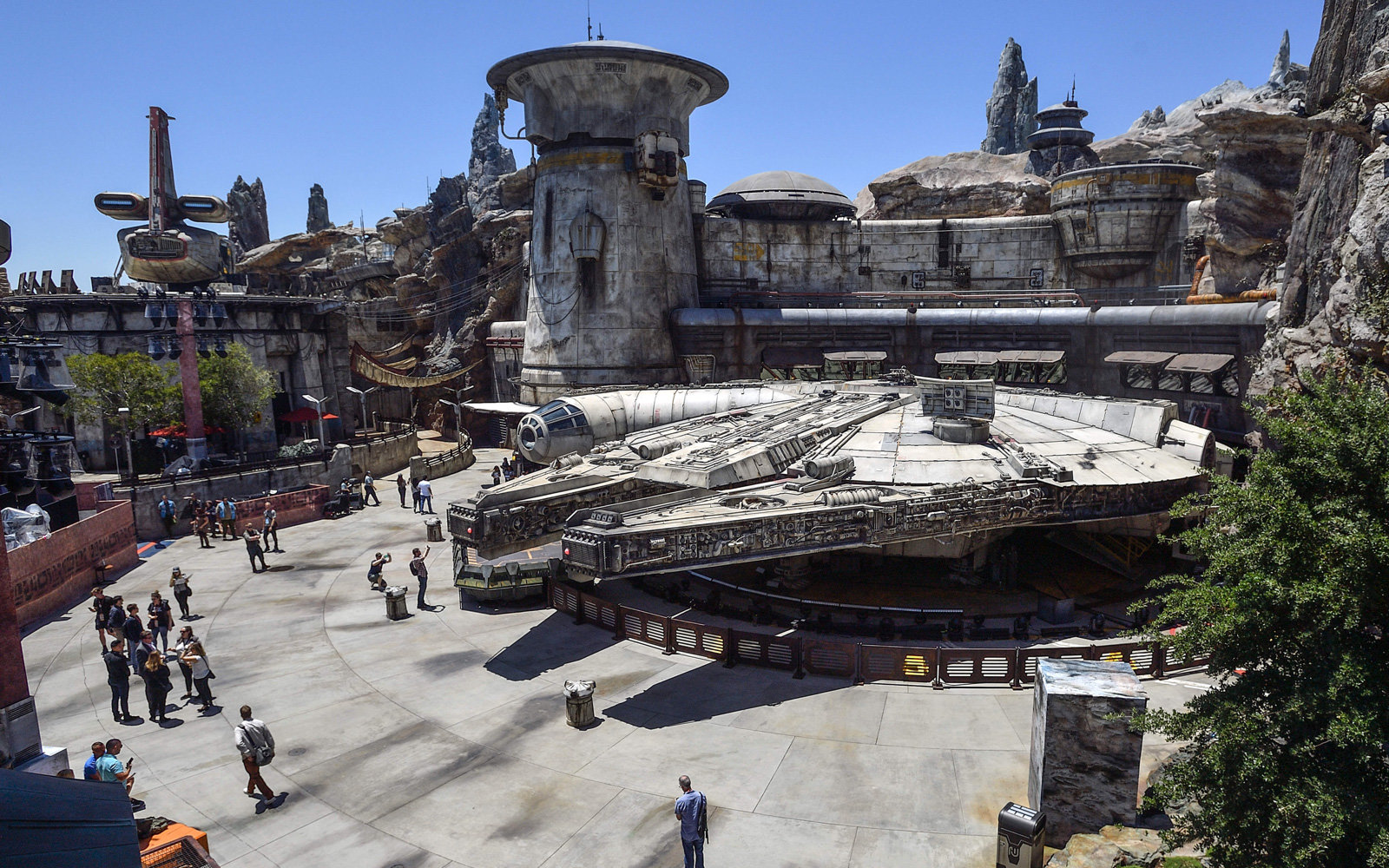 Star Wars: Galaxy's Edge at Disneyland in Anaheim, CA
