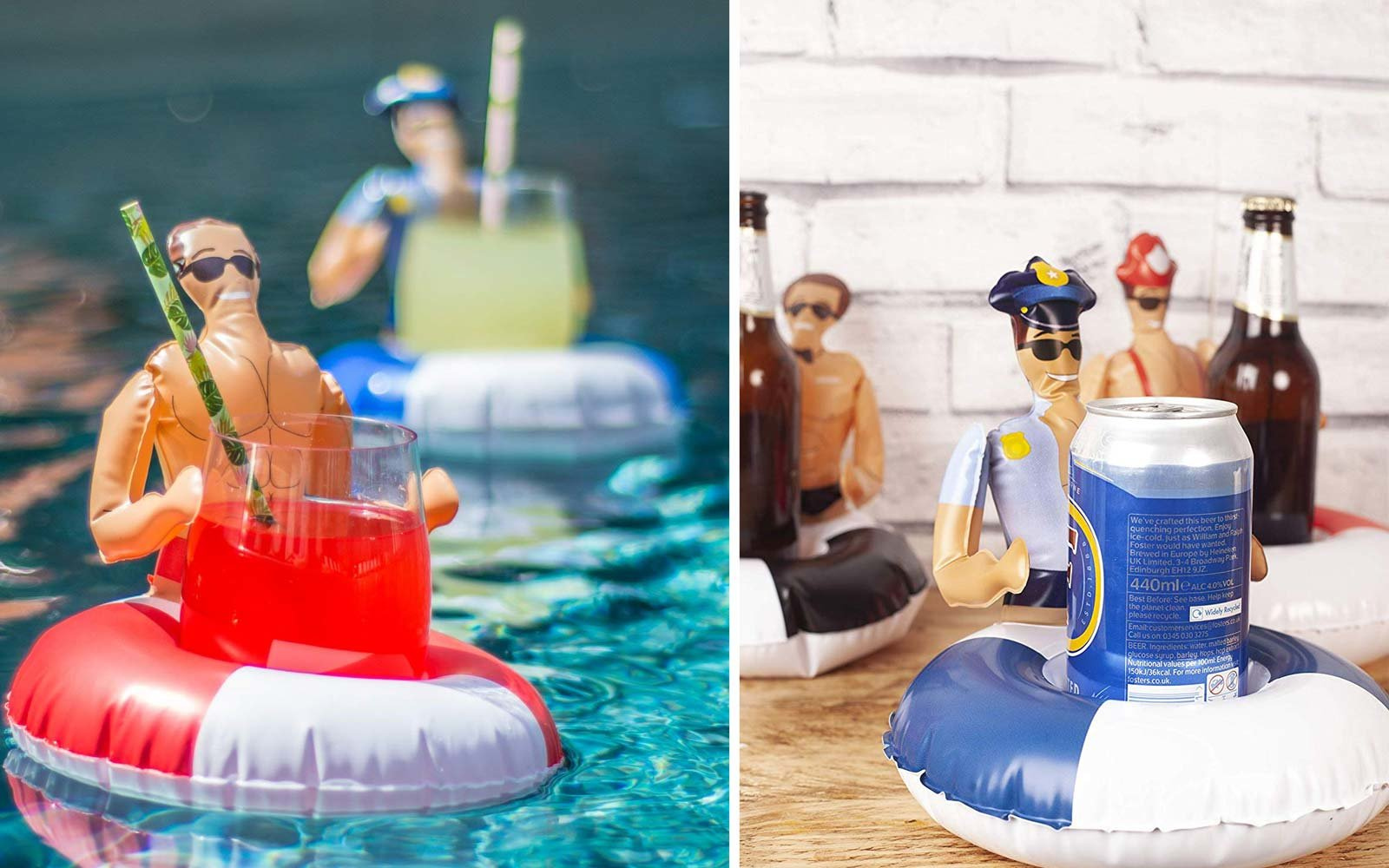 Chad the Hunky 'Boyfriend' Now Comes As an Inflatable Cup Holder so You Never Have to Drink Alone