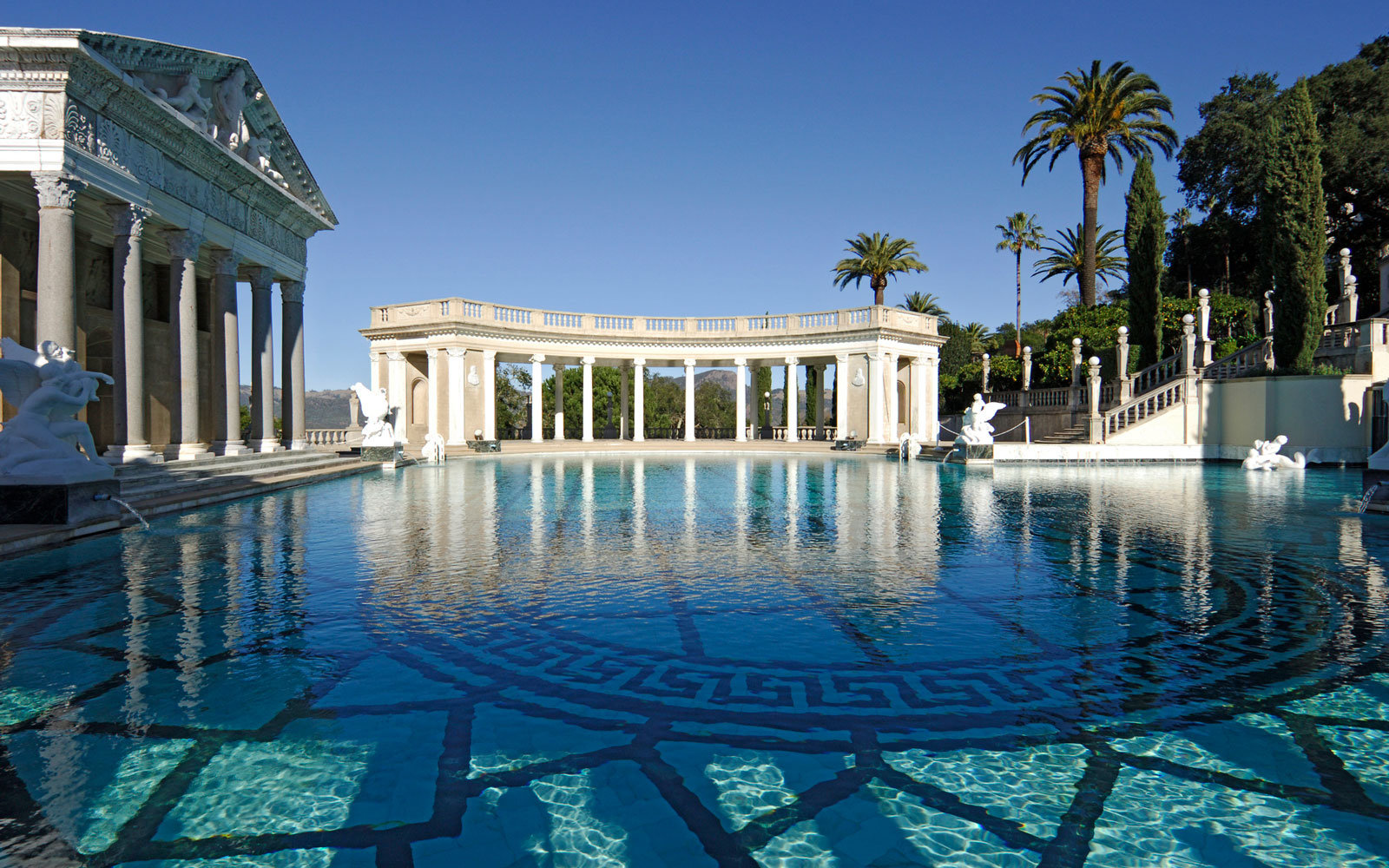 California's Hearst Castle is hosting pool parties this summer