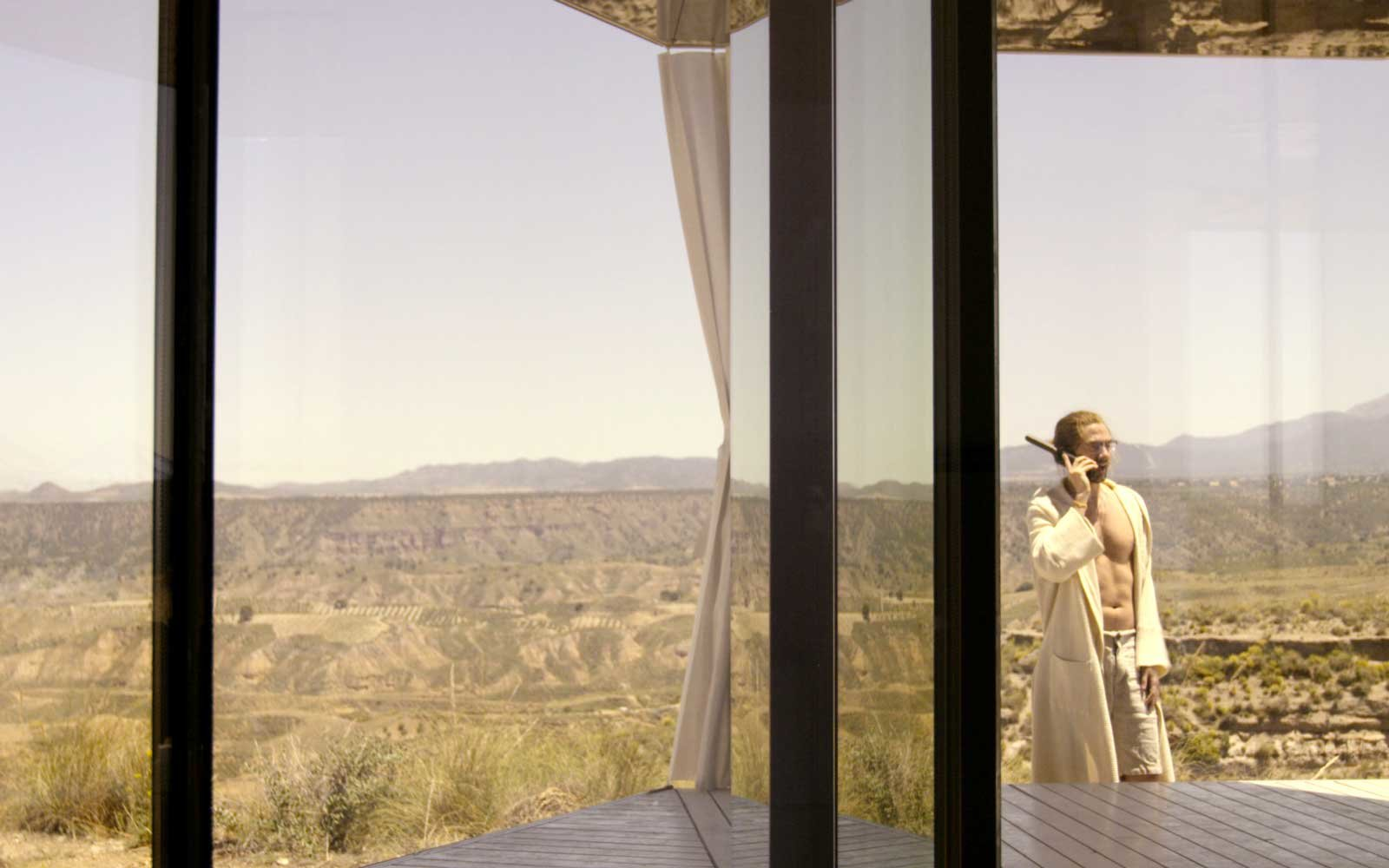 La Casa de Desierto - Spain - Black Mirror Desert House - Guardian Glass