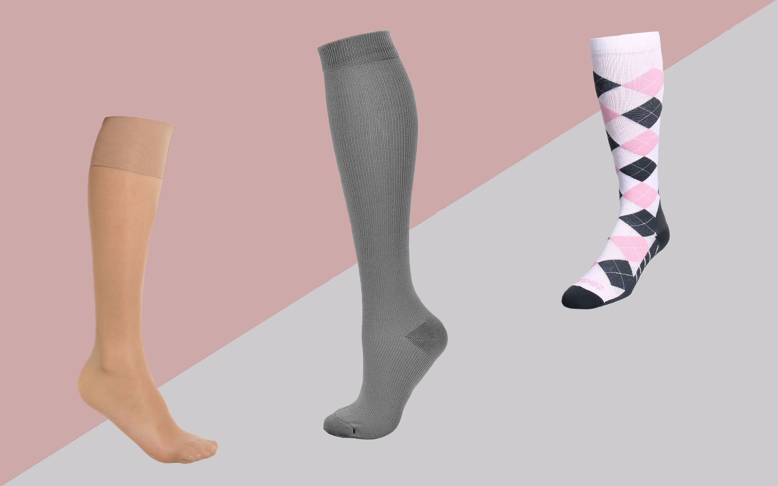 54e744ae1 The 9 Best Compression Socks for Women | Travel + Leisure