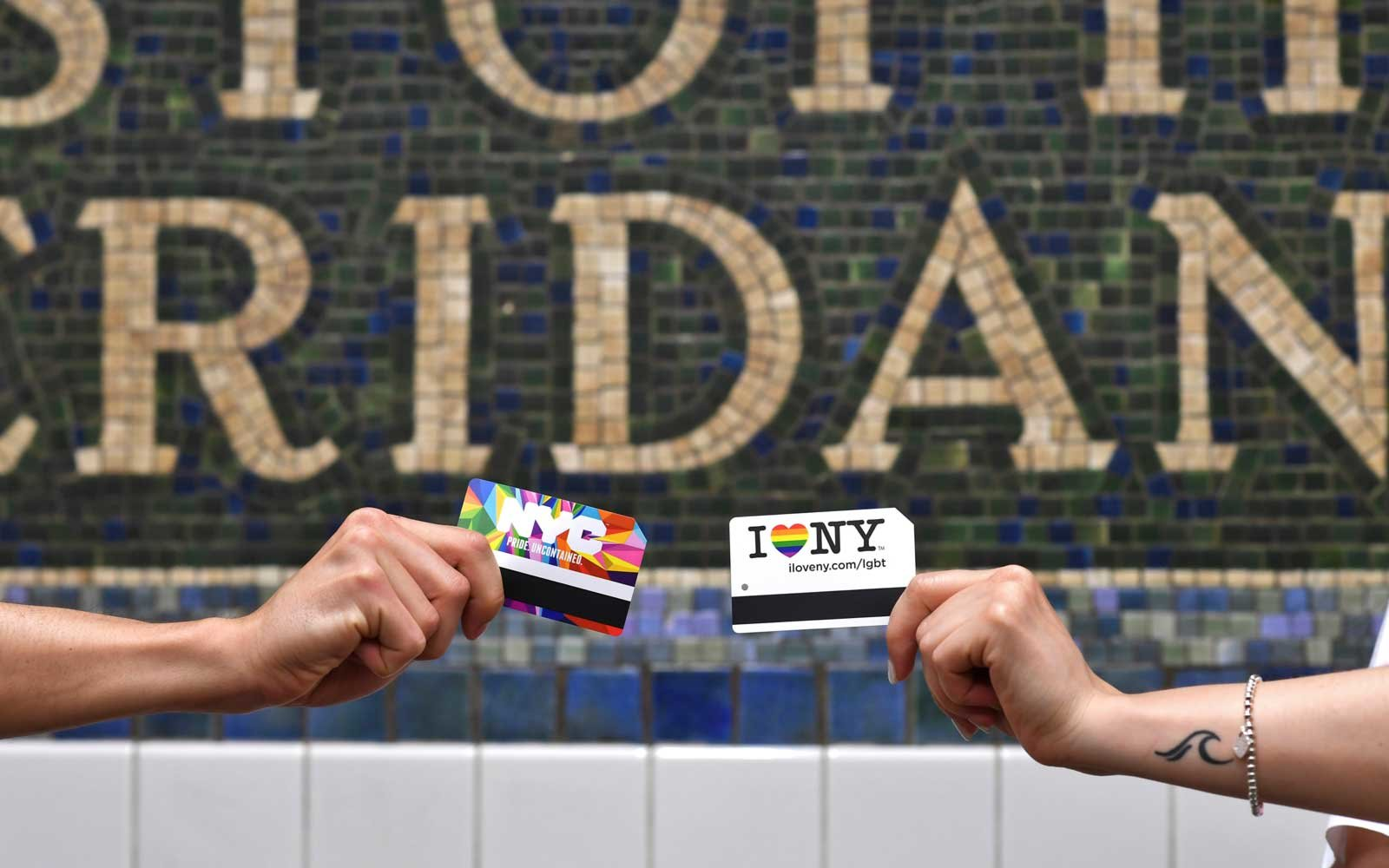 MTA Subway PRIDE Trains