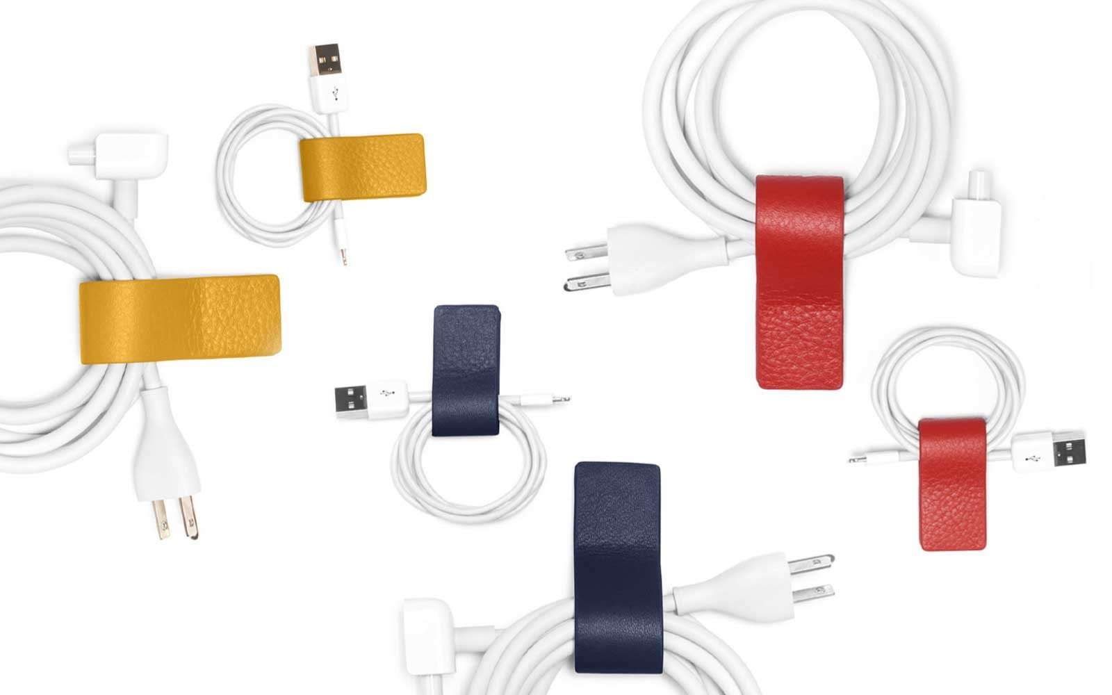 Leatherology Magnetic Cord Wraps