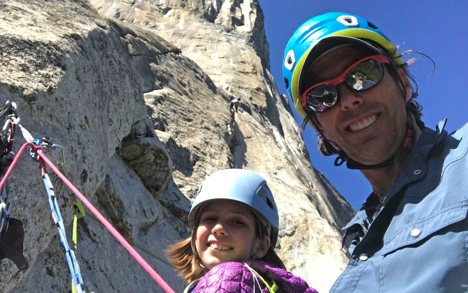 Youngest person to climb El Capitan in Yosemite National Park